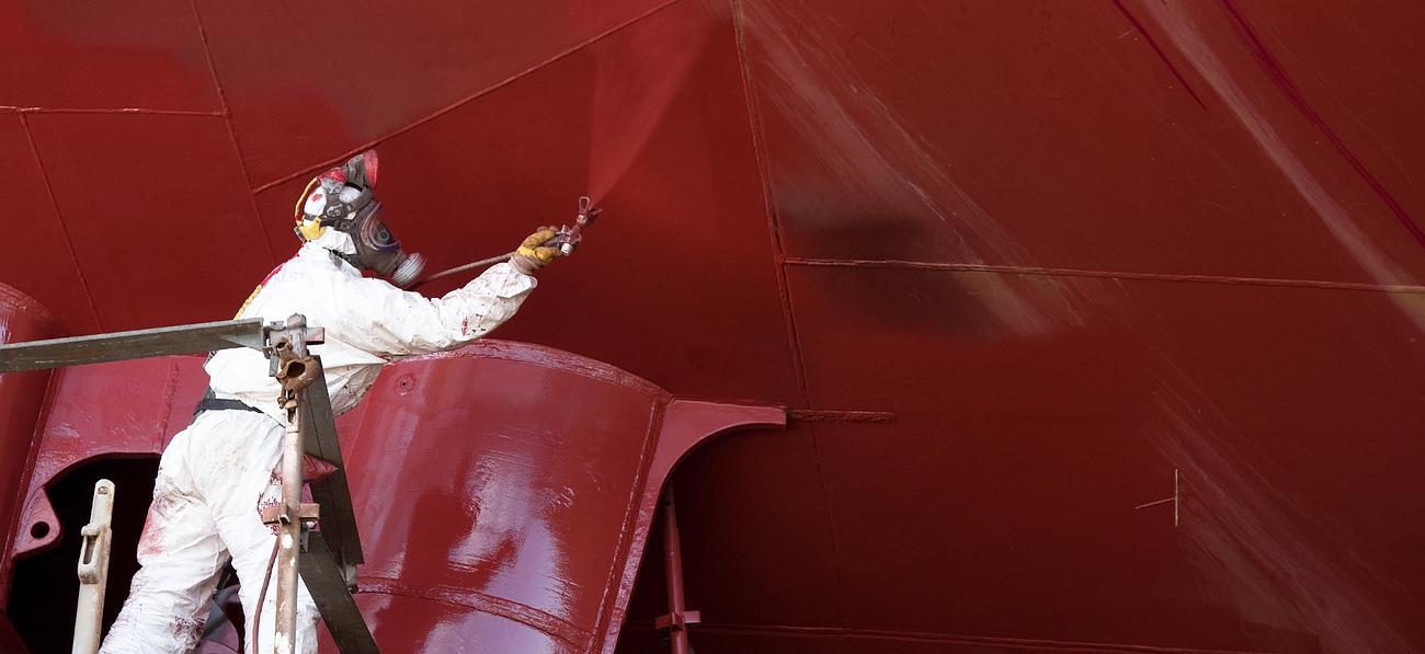 travaux peinture industrielle