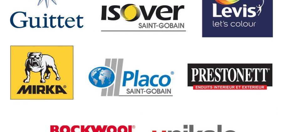 Les Marques Partenaires De Nos Chantiers En Région Parisienne | Lpr