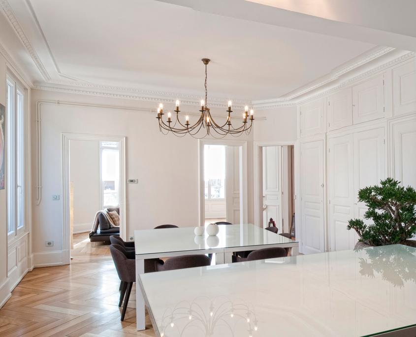 TRAVAUX DE PEINTURE rénovation appartement Paris