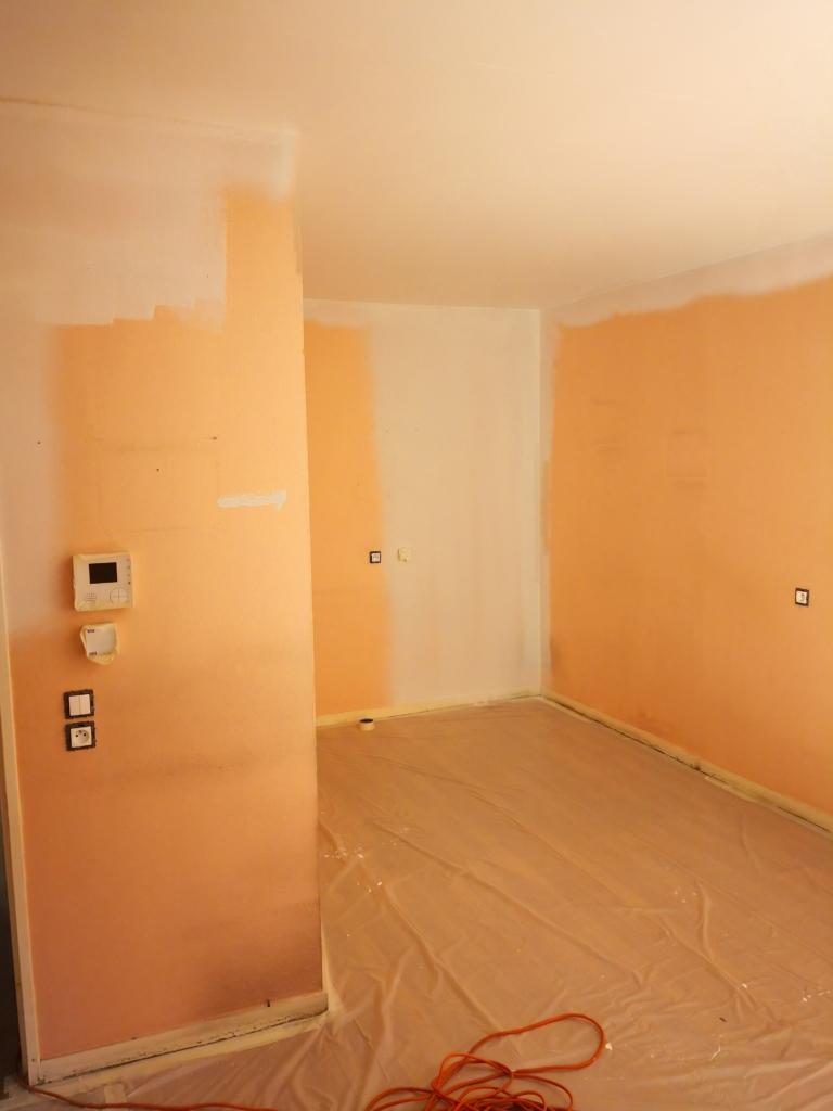 Travaux de peinture et rénovation de sols appartements locatifs