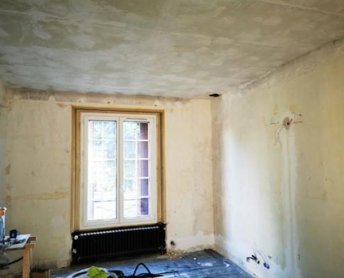 Rafraîchisssement intégral maison à Maisons-Alfort -Rénovation parquets peintures murs plafonds - Lemaire Peinture Rénovation
